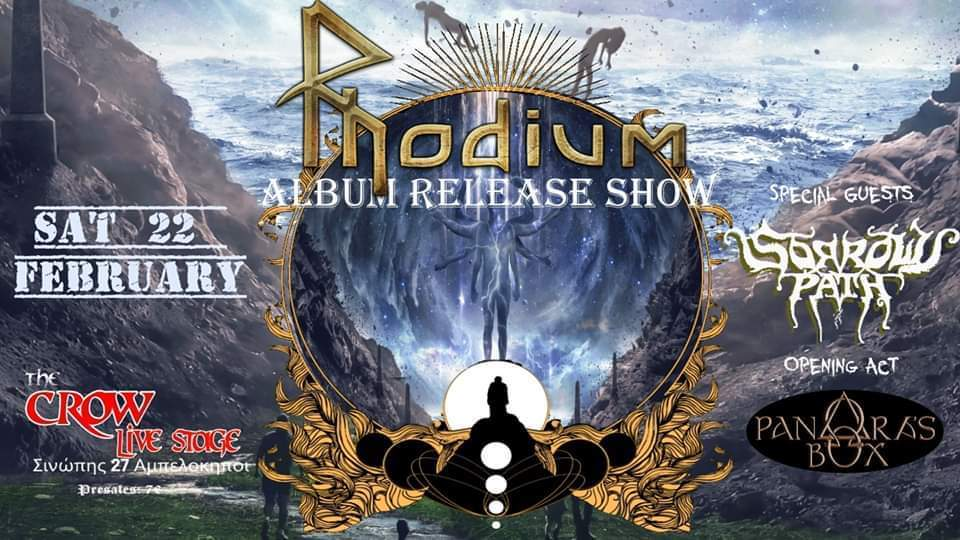 Rhodium Live Album Release Show Sorrows Path Pandoras Box11