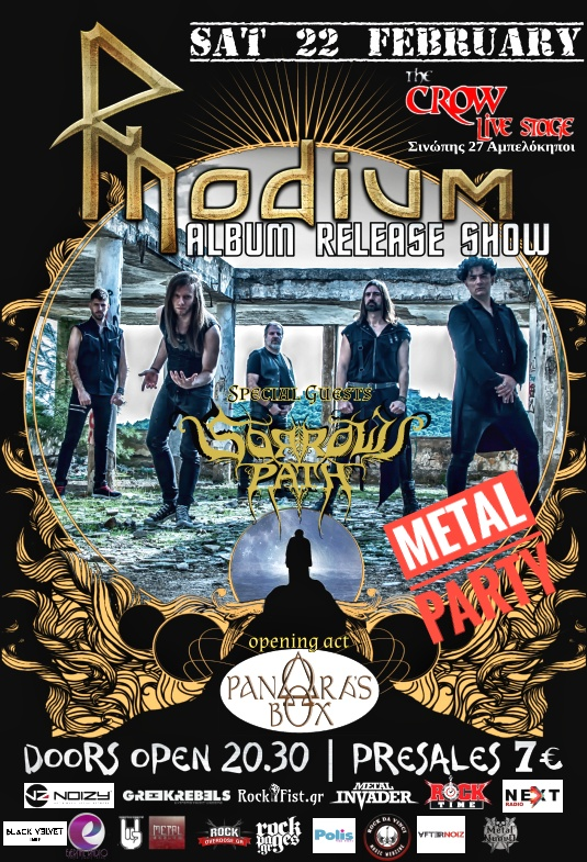 Rhodium Live Album Release Show Sorrows Path Pandoras Box2