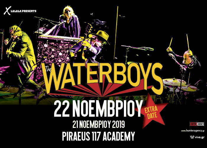 The Waterboys EXTRA DATE1