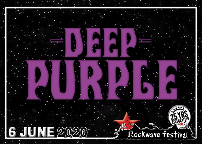 Rockwave Festival | Deep Purple & Opeth (Σάββατο 6 Ιουνίου 2020)